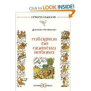 Milagros de Nuestra Senora (Odres Nuevos) (Spanish Edition): Gonzalo