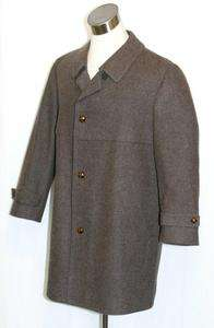 BROWN ~ LODEN WOOL Men German WINTER Dress Sport Suit Trench JACKET