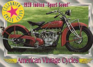 1928 Indian Sport Scout Motorcycle Engine 45 cu. in. 2 Clyinder