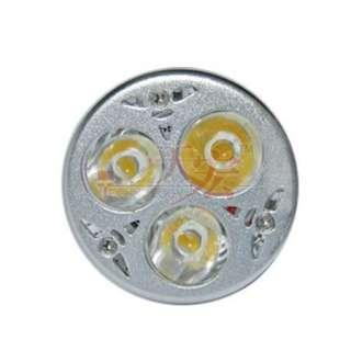 12V Gu10/220V E27/220V 3x3W Led Light Warm Cool White Light Bulb Lamp