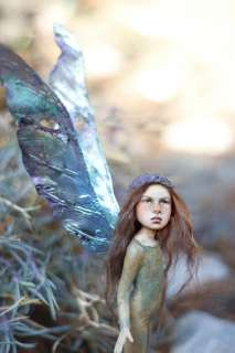 OOAK fairy fantasy sculpture artdoll***chopoli***