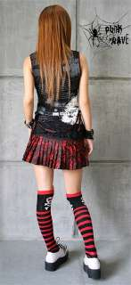 Lolita Kera VISUAL KEI PUNK GOTHIC EMO NANA pants skirt leg warmers S