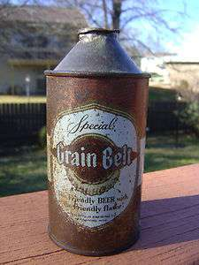 Collectible Cone Top Beer Can~Grain Belt Special~