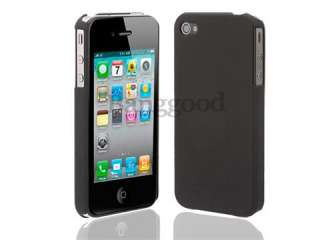 Hard Back Case Cover For iPhone 4 4S 4G *Black+Green+Purple*