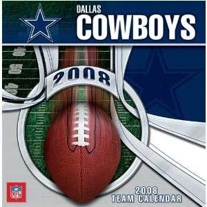 Dallas Cowboys 2008 NFL Box Calendar: Sports & Outdoors