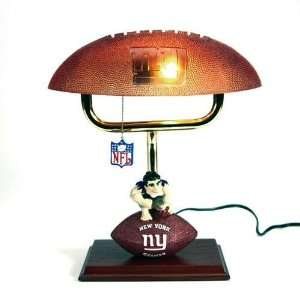 New York Giants NFL Mascot Desk Lamp w/ Football Shade (14