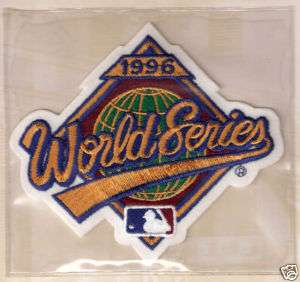 1996 NEW YORK YANKEES WORLD SERIES BASEBALL MLB PATCH