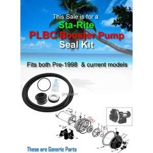 STA RITE PLBC Booster Pump Shaft Seal & O ring Kit