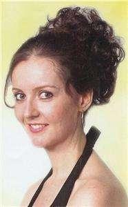 Claw clip short curly Hair Wiglet piece   Hayley Hairdo
