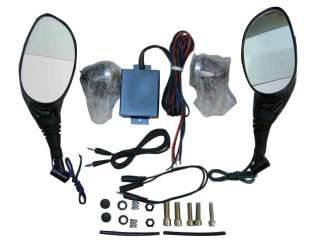 shark SHKLX MT01 Motorcycle audio mirror speaker ipod + amp marine