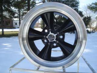 US MAG BLACK 18X8 HOT ROD FORD MOPAR DODGE PLYMOUTH WHEELS/ JUST IN