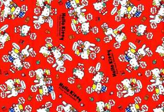 SANRIO HELLO KITTY Friends Japanese Fabric Half Yard