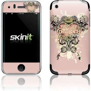 Skinit Harley Davidson Pink Heart Tattoo Vinyl Skin for Apple iPhone