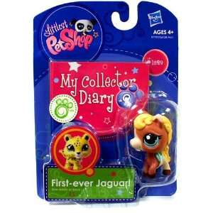 Littlest Pet Shop My Collector Diary Horse: Toys & Games