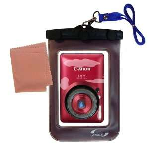 Gomadic Clean n Dry Waterproof Camera Case for the Canon