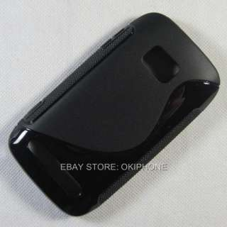 1X New Soft Gel TPU Case Cover Skin For Nokia Lumia 710 T Mobile Sabre