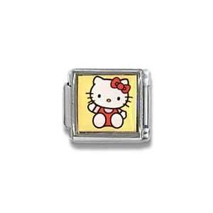 Hello Kitty with Red Jumper Licensed Photo Cat Charm