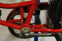 Vintage Schwinn Ladies Hollywood Deluxe red middleweight bicycle bike