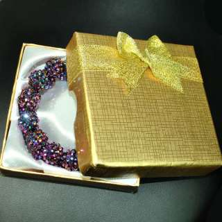Bling Hoops Rhinestone Basketball Wives Earrings+Gift Box 0009
