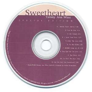 Sweetheart: Special Edition: Tammy Ann Winn: Music