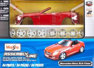 NEW Maisto 1/24 AL Mercedes Benz SLK 39206 NIB 090159392064