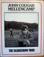 John Cougar Mellencamp The Scarecrow Tour Book 1985 86