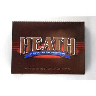 Heath Candy Bar, Milk Chocolate & English Toffee, 1.4 Ounce Bars (Pack