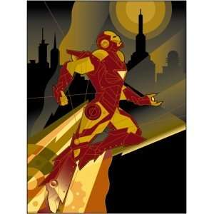 Man Takes Flight Marvel Comics Disney Fine Art Mike Kungl Iron Man 2