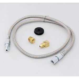 Auto Meter Tubing and Line Kits Gauge Tubing, Braided Stainless Steel