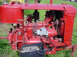 CUB FARMALL TRACTOR RUNNING POWER UNIT IHC CUB ENGINE |