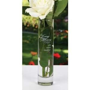 In Loving Memory Glass Bud Vase: Everything Else