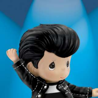 Elvis Presley Figurine Jailhouse Rock By Hamilton Collection