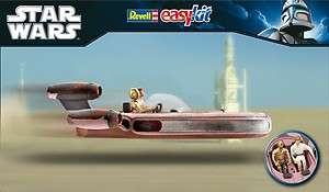 Revell Model Kit   Star Wars   Luke Skywalker X 34 Landspeeder   06676