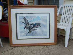 Approach Signed Numbered 75/300 Lithograph Print Art 43x36
