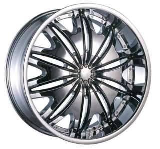 22 INCH RIMS WHEEL TIRE PKG DEEP LIP 6X135 6X139 V820