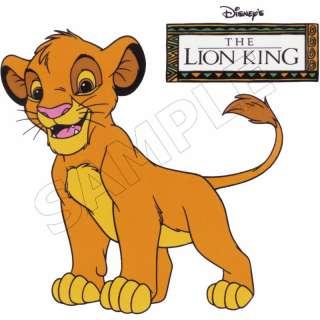 The Lion King Simba Edible Cake Topper Decoration Image