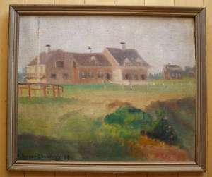 Berger Lheureux, 1939, French Impressionist Oil A+++