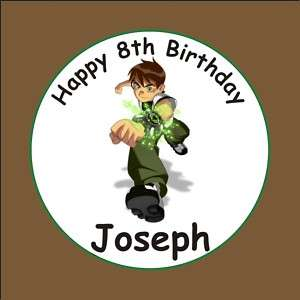 BEN 10 Birthday Cupcake Cake Toppers Picks Decorations