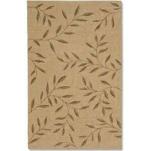 Living Nexus Collection Laurel Area Rug, 5 Feet by 8 Feet, Natural