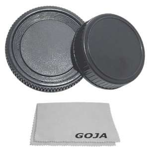 Rear Lens + Camera Body Cover Cap For Minolta + 1 Ultra