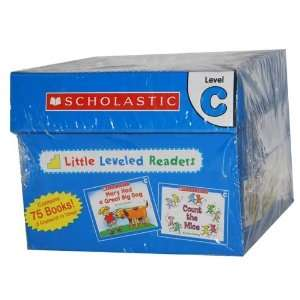 Little Leveled Readers Level C Box Set (75 8 Page Books