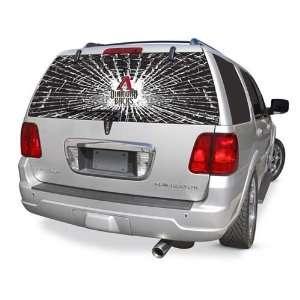 Arizona Diamondbacks Rear Window Shattered Glass Rearz Sticker   Decal