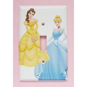 Disney Princess Cinderella Aurora Belle Switchplate ~ You