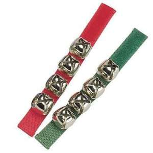 Woodstock   CHRISTMAS JINGLE BELL BANDS ~ Set of 2 (Red
