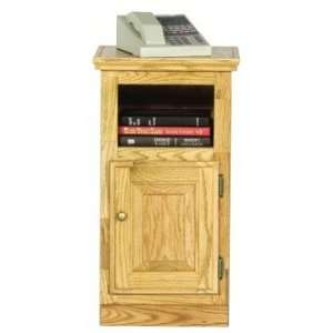 Eagle Classic Oak Promotional Finger Joint Telephone Stand