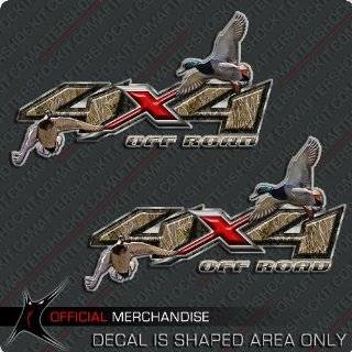 Z71 Chevy Duck Hunting Decals Off Road Camo  Sports