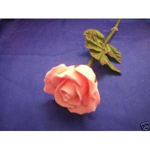 Victorias Garden Long Stem Handcrafted Pink Rose Soap