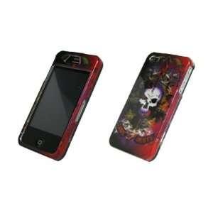 Love Hurts Color Skull Design Hard Cover Crystal Case for Apple