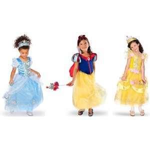 Disney Princesses Costume Dress Set Including Cinderella, Snow White