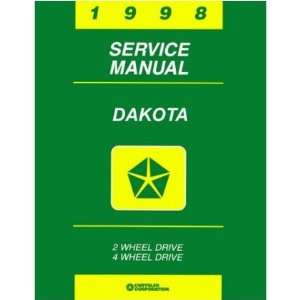 1998 DODGE DAKOTA TRUCK Shop Service Repair Manual Book